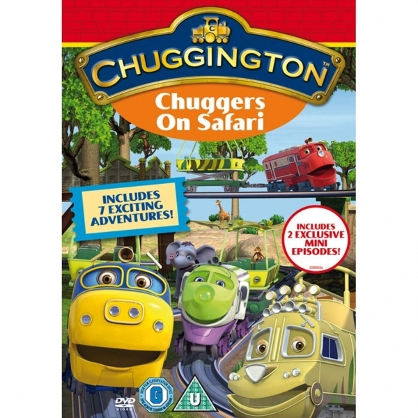 Chuggington Chuggers On Safari DVD