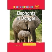 I Love Reading Fact Files 800 Words: Elephants in Danger by Octopus Publishing Group (Paperback, 2008)