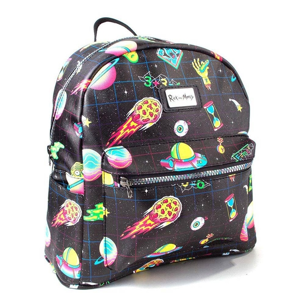Rick And Morty - Space Sublimation All-Over Print Backpack - Black