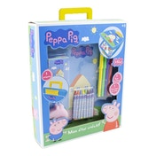 Peppa Pig My Creative Case with 30 Piece Creative Accessories Kit