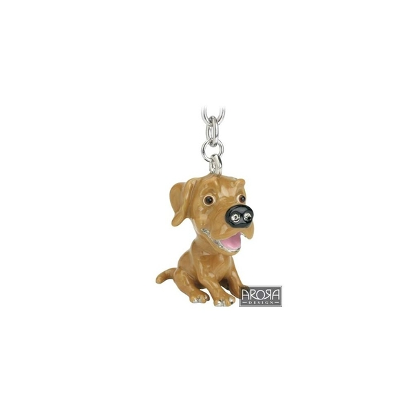 Little Paws Key Ring Labrador Yellow