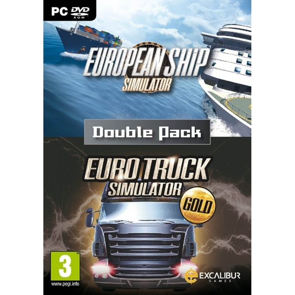 European Ship Simulator & Euro Truck Simulator Gold Double Pack PC Game