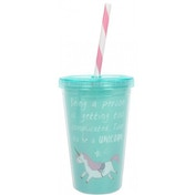 Time to be a Unicorn Drinking Cup (Single)