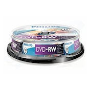 Philips DVD-RW 4X 10PK Spindle