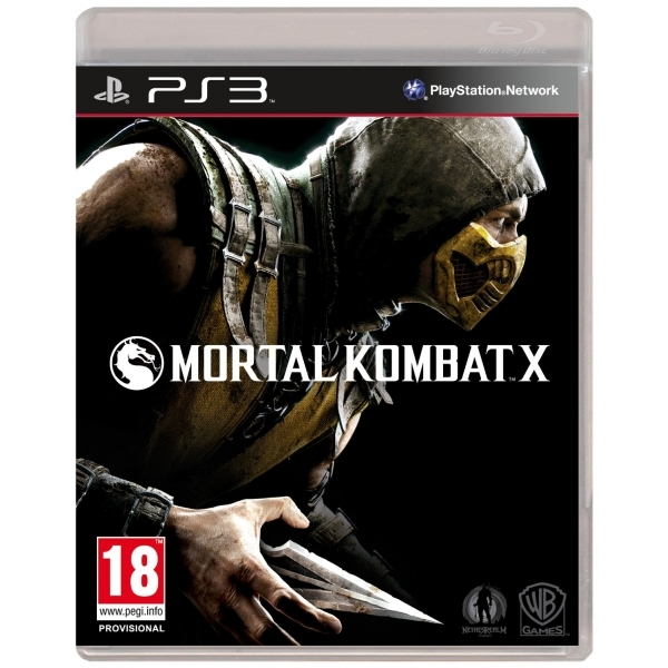 Mortal Kombat X PS3 Game