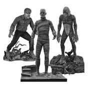 Universal Monsters Select B&W Monsters Set