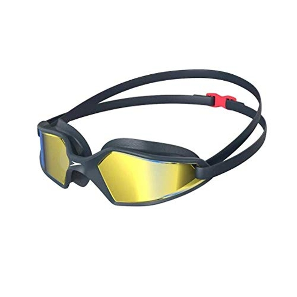 Speedo Hydropulse Mirror Goggles Adult Navy/Blue