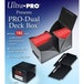 Ultra Pro Black Pro Dual Deck Box 180 Cards - Image 2