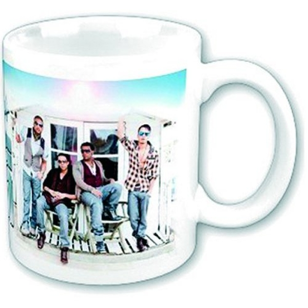 JLS - Beach Hut Boxed Standard Mug