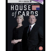 House Of Cards - Seasons 1-3 DVD