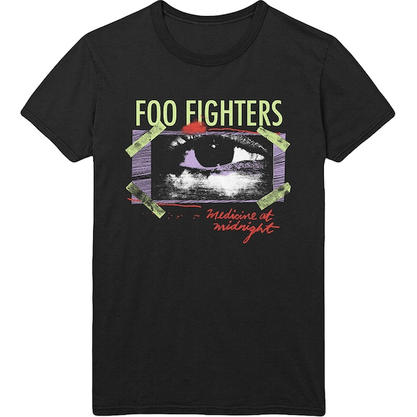 Foo Fighters - Medicine At Midnight Taped Unisex Medium T-Shirt - Black