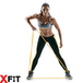Resistance Loop Band Crossfit, Exercise, Strength, Weight Training XFit 2 Pack (Light & Medium) - Image 4