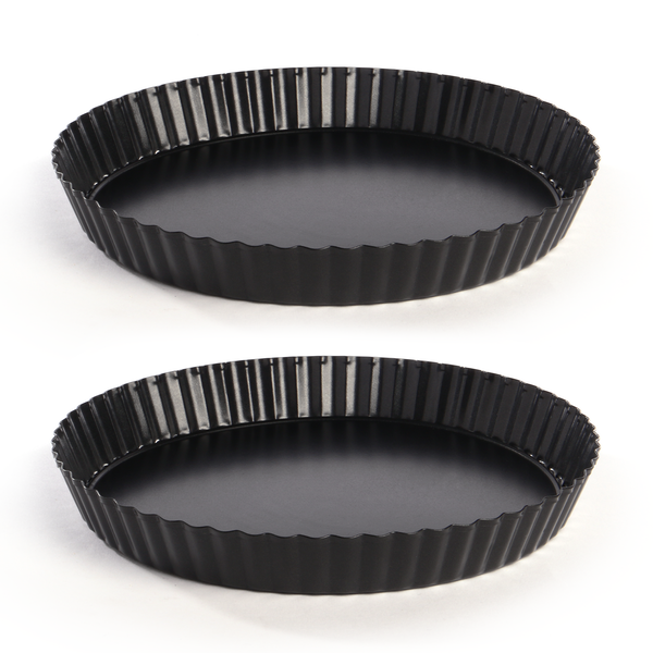 Non-Stick Quiche Tart Tin - Set of 2 | M&W