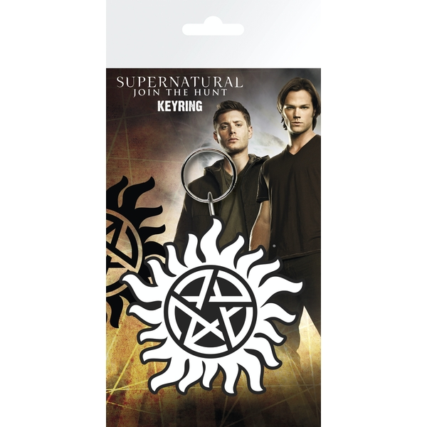 Supernatural Anti Possession Symbol Key Ring