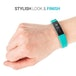 Yousave Activity Tracker Single Strap - Red (Small) - Image 2