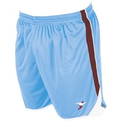 Precision Roma Shorts Junior Sky/Maroon/White -  M/L Junior 26-28""