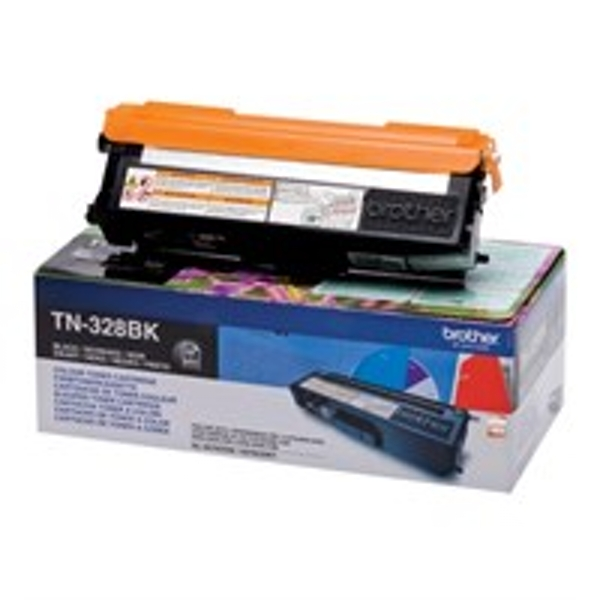Brother TN-328BK Toner black, 6K pages