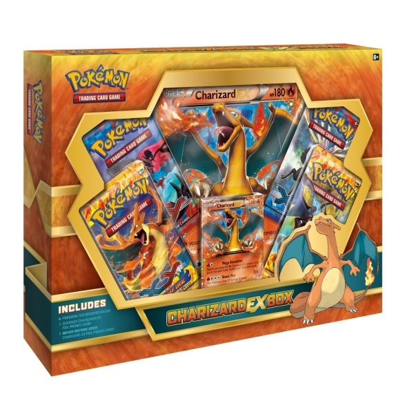 Pokemon TCG Charizard Ex Box - Image 1