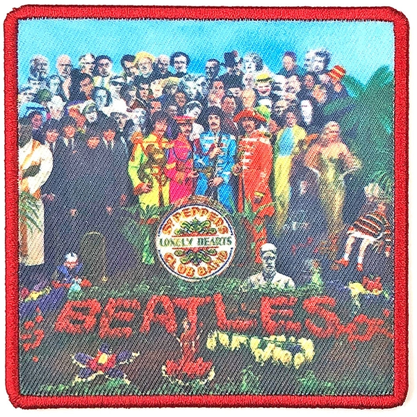 The Beatles - Sgt. Pepper's?. Album Cover Standard Patch