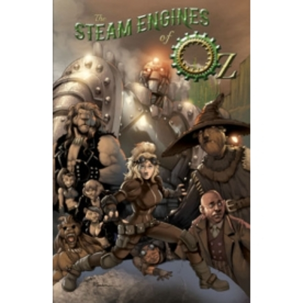 The Steam Engines Of Oz Vol 1 TPB