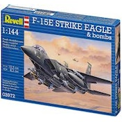 F-15E STRIKE EAGLE & bombs 1:144 Revell Model Kit