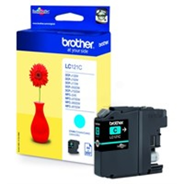 Brother LC-121C Ink cartridge cyan, 300 pages, 4ml