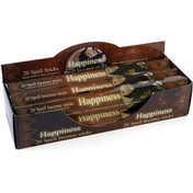 6 Packs of Happiness Spell Incense Sticks by Lisa Parker