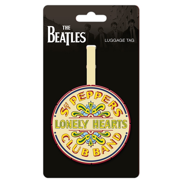 The Beatles - Sgt. Pepper Logo Luggage Tag