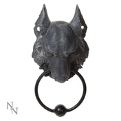 Wild Wolf Door Knocker