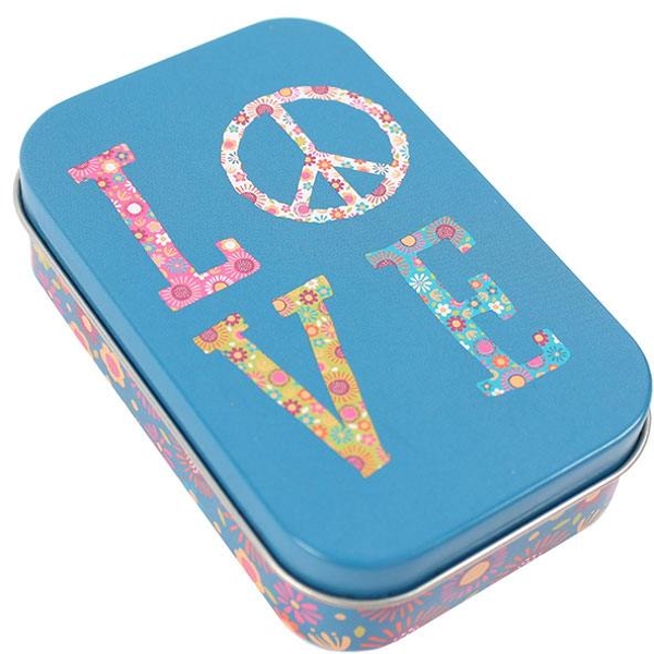 Love Floral Tin Pack Of 12