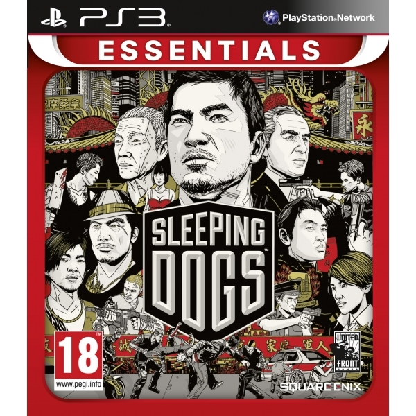 Sleeping Dogs Game (Essentials) PS3