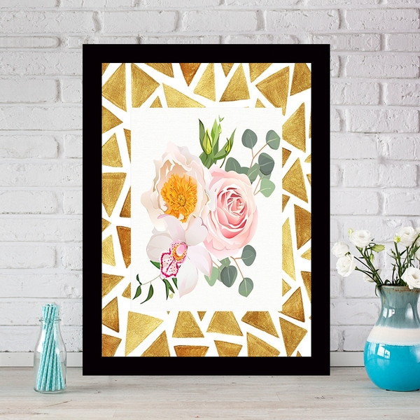 SCZ5083836764 Multicolor Decorative Framed MDF Painting