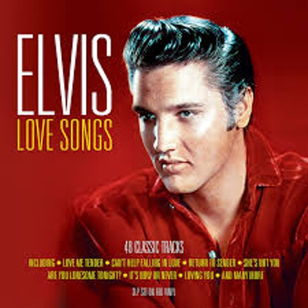 Elvis Presley - Love Songs Red Vinyl