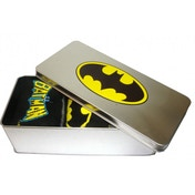Batman 3 Pack Socks in Tin (Black)