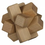 Chunky Wooden Plank Puzzle