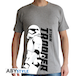 Star Wars - Trooper Episode 7 Men's Large T-Shirt - Grey - Image 2