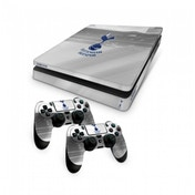 Official Tottenham Hotspur FC PS4 Slim Console Skin and 2x Controller Skin Combo Pack