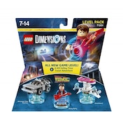 Back to the Future Lego Dimensions Level Pack