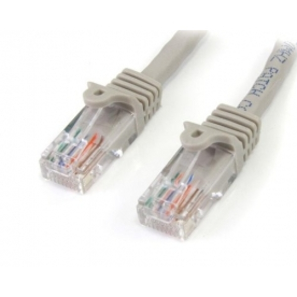 15 m Cat5e Gray Snagless RJ45 UTP Cat 5e Patch Cable - 15m Patch Cord