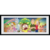 Rick and Morty Group Framed Collector Print