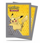 Ultra Pro Pikachu Grey Deck Protector 65 Sleeves