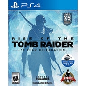 Rise of Tomb Raider 20 Year Celebration Game PS4 (#)
