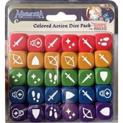 Masmorra Dungeons Of Arcadia: Colored Action Dice Pack