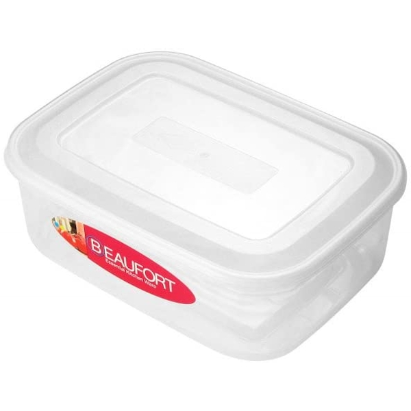 Beaufort Rectangular Container Clear 3L
