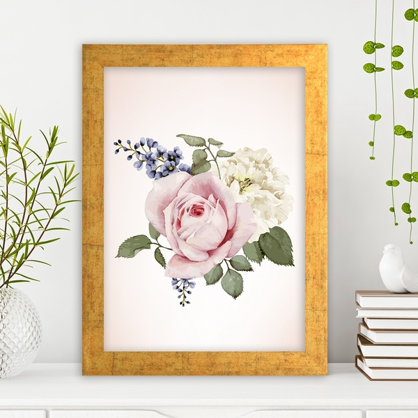 AC2766714503 Multicolor Decorative Framed MDF Painting