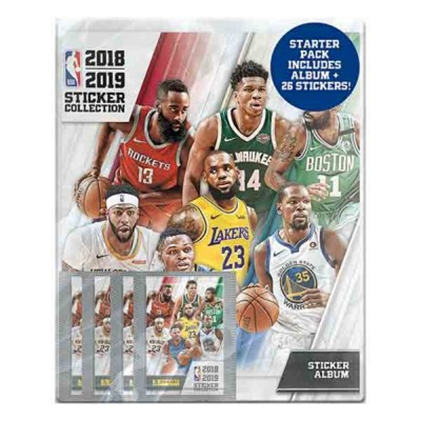 NBA 2018/19 Sticker Collection Starter Pack