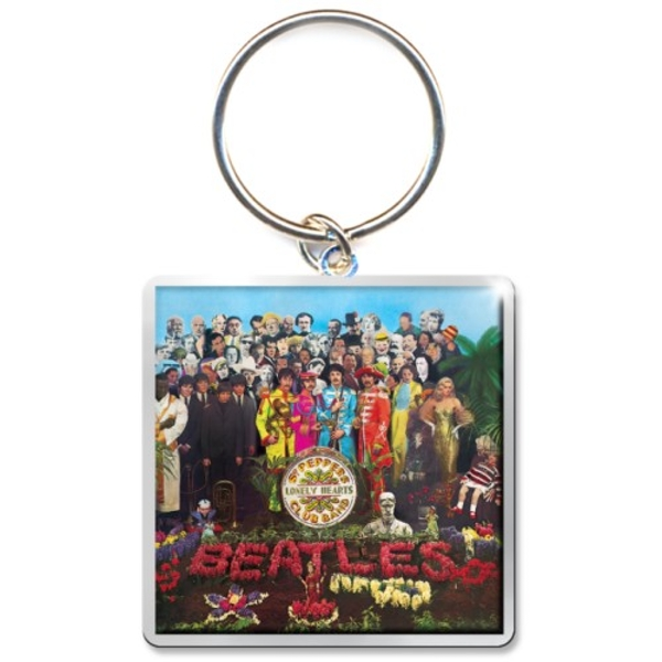 The Beatles - Sgt Pepper Album Keychain