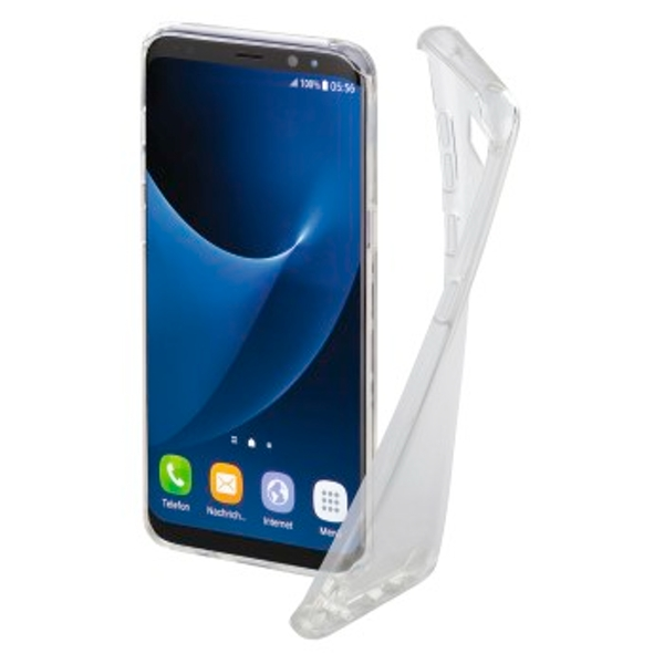 "Hama ""Crystal Clear"" Cover for the Samsung Galaxy Note 8, transparent"