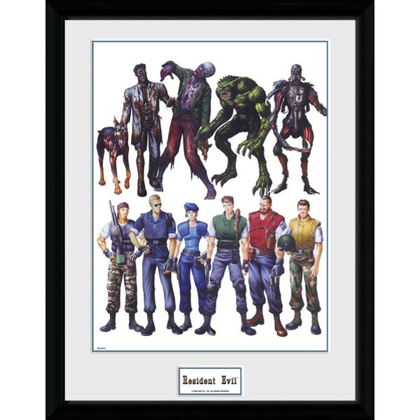 Resident Evil Concept Art Collector Print