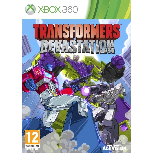 Transformers Devastation Xbox 360 Game